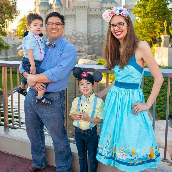 Cheung Family at Walt Disney World