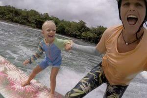 Family surf retreats
