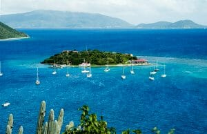 Marina Cay in BVI, British Virgin Islands