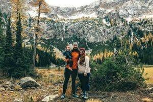 Wandering Puhls family travel hiking mounains