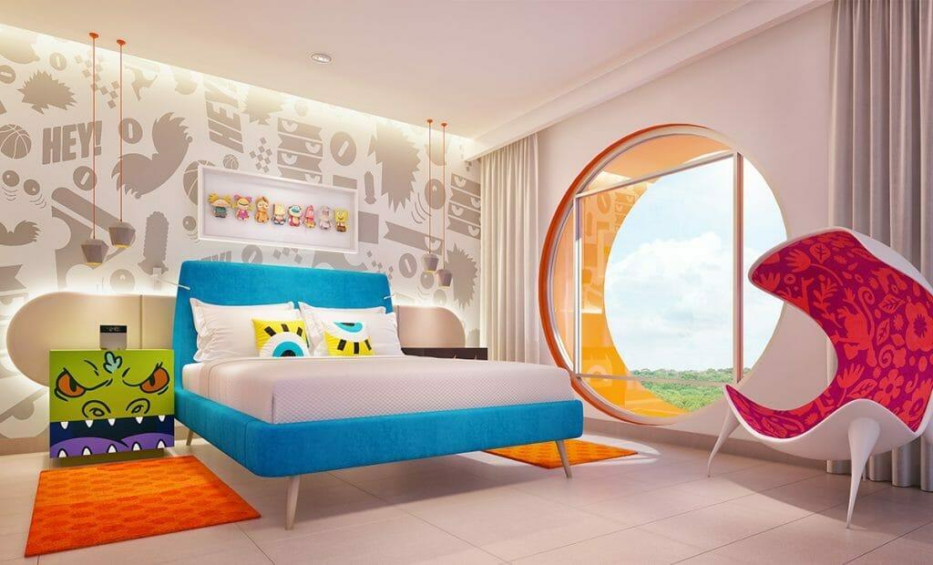 Nickelodeon Resort Riviera Maya Big Kahuna bedroom