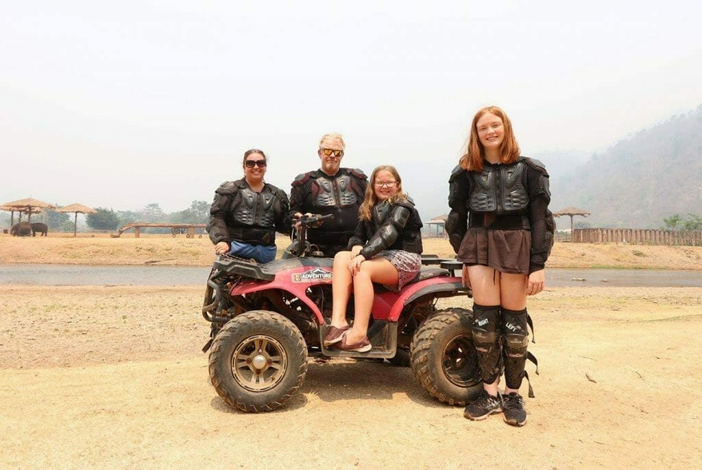 The Wyld Family in Thailand