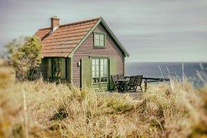 Rustic seaside cottage
