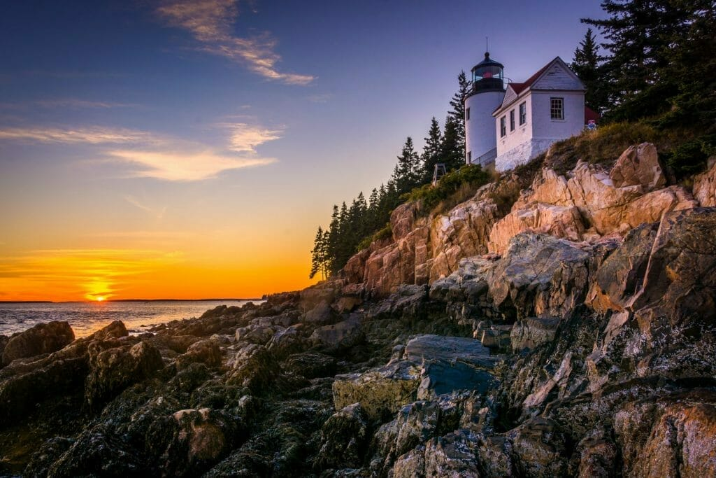 Lighthouse at Acadaia National Park