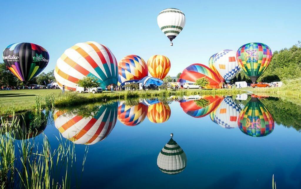Stoweflake Resort Balloon festival