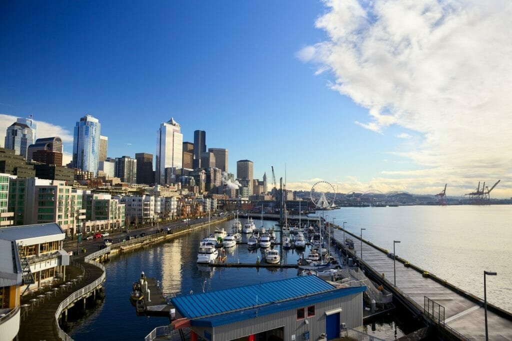 Waterfront in Seattle Washington