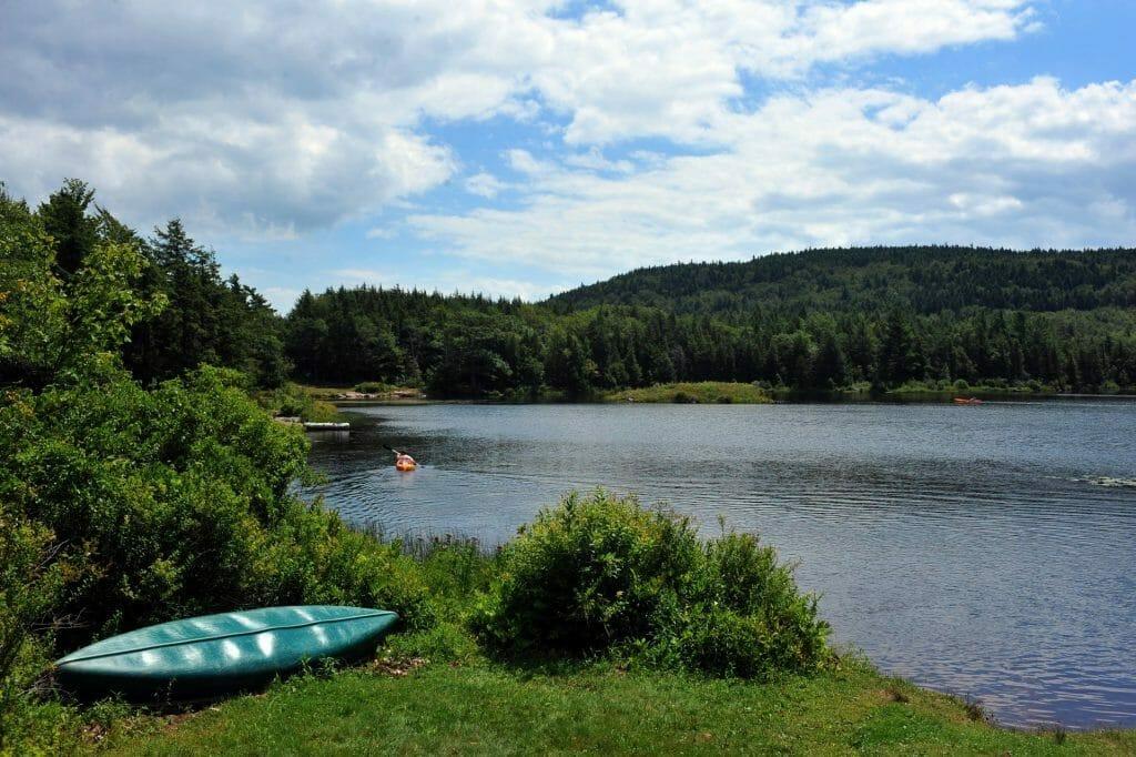 lake in New York's Catskills