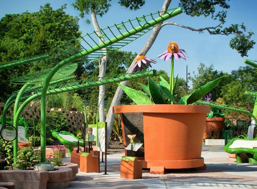 Dallas Arboretum Giant Plants