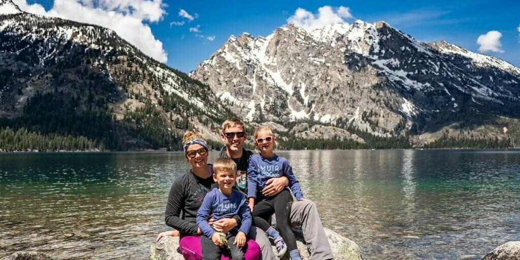 Big Brave Nomad Family in Grand Teton