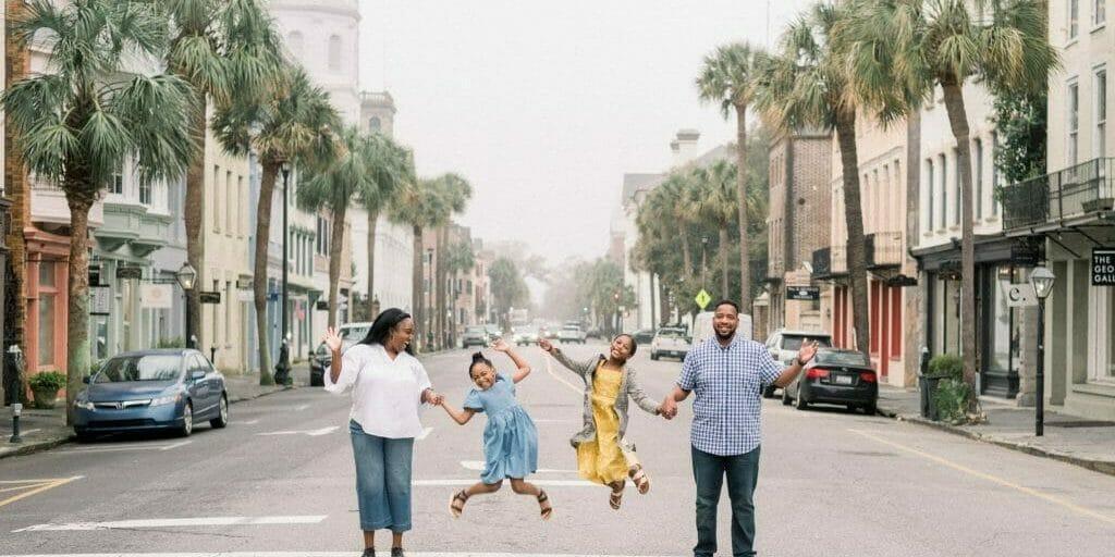 Montoya Hudson of TheSpringBreakFamily in Charleston