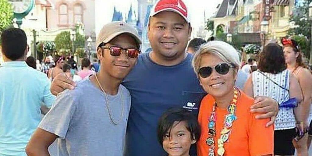 mags Salvan-Silverio family Disney