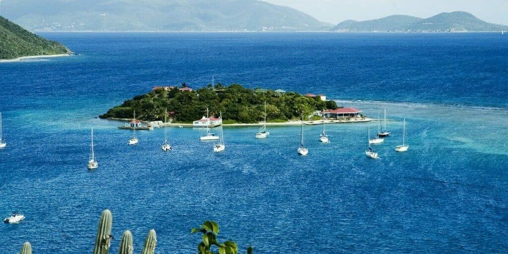 Marina Cay in BVI, British Virgin Islands